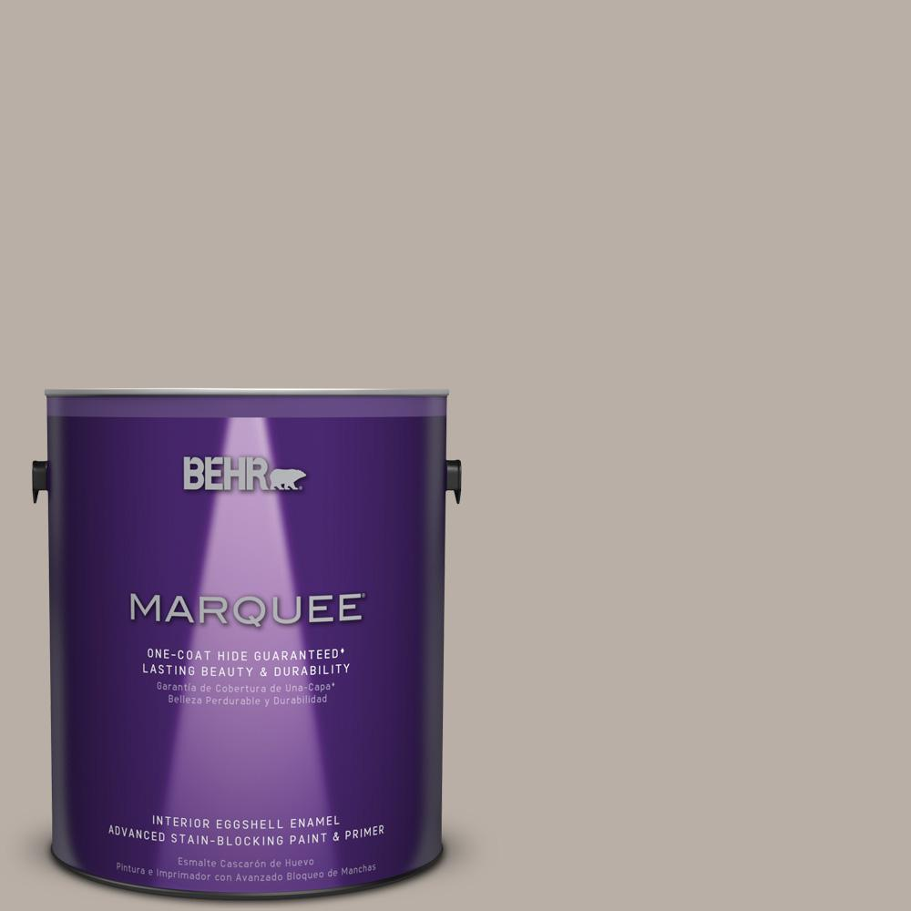 1 gal. #T18-08 Off the Grid Eggshell Enamel Interior Paint