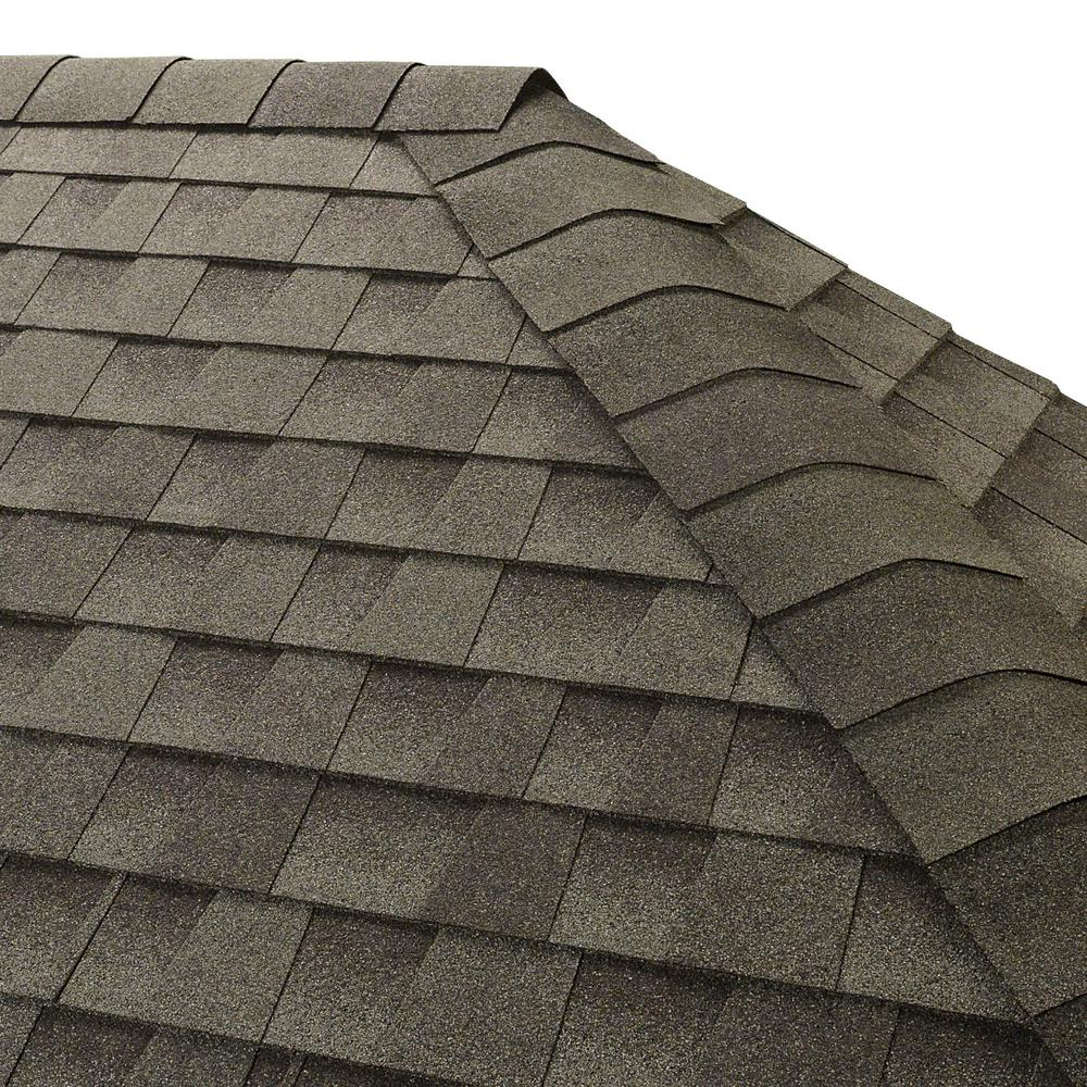 Seal-A-Ridge Slate Hip and Ridge Shingles (25 linear ft. per Bundle)