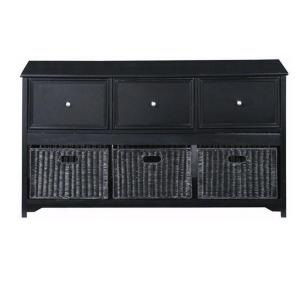 Home Decorators Collection Oxford Black File Cabinet 5461200210 The Home Depot