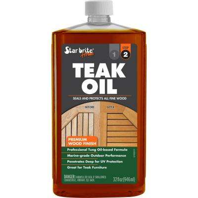 32 fl. oz. Premium Teak Oil