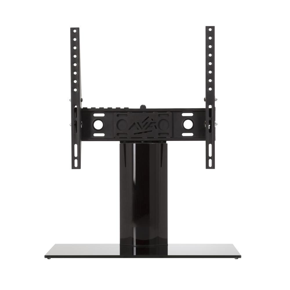 Avf Universal Table Top Tv Base Adjule Tilt And Turn For Most Tvs 37 In To 55 Black