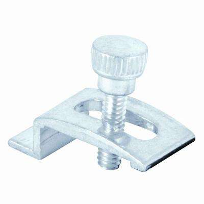 1/4 in. Aluminum Storm Door Clips (8-Pack)
