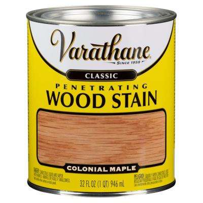 1-qt. Colonial Maple Classic Wood Interior Stain (2-Pack)