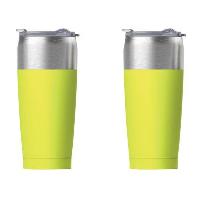 20 oz. Lime Tied Tumbler (2-Pack)