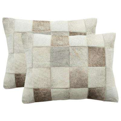Taurean Cowhide Pillow (2-Pack)
