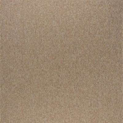 Serenity Beige 5 ft. 1 in. x 5 ft. 2 in. Modern Square Area Rug