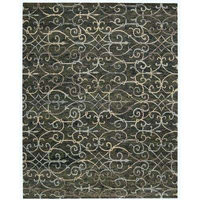 Tahoe Modern Charcoal 6 ft. x 9 ft. Area Rug