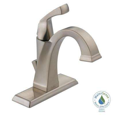 Dryden Single Hole Single-Handle Bathroom Faucet in SpotShield Stainless