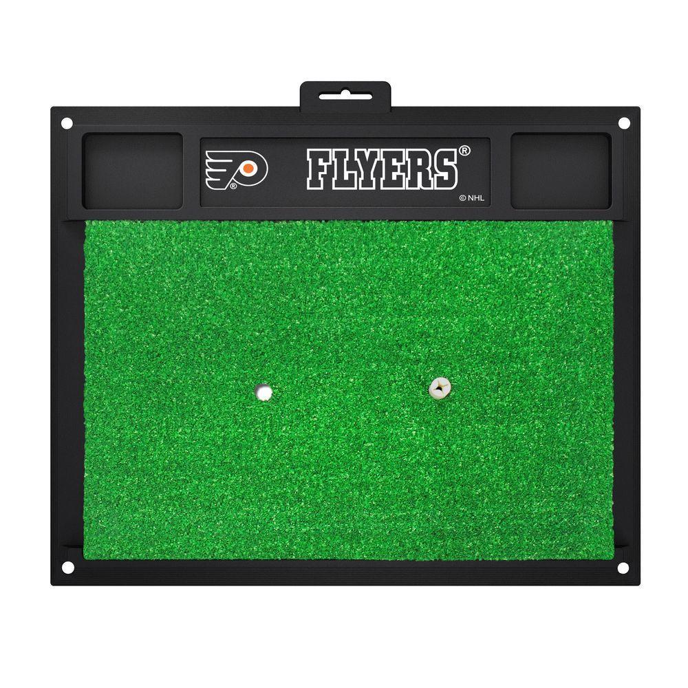 NHL - Philadelphia Flyers 20 in. x 17 in. Golf Hitting Mat