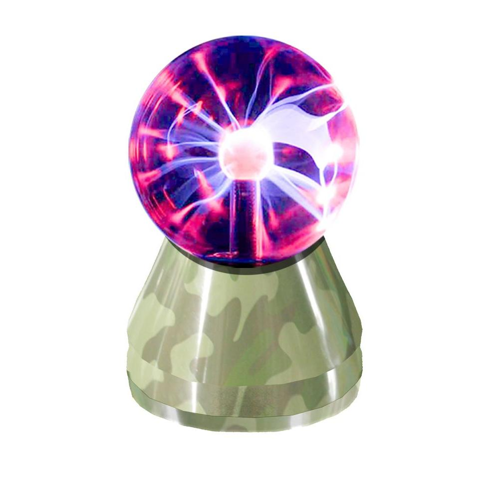 Rock Your Room 3 in. Mini Plasma Camo Lamp-DISCONTINUED