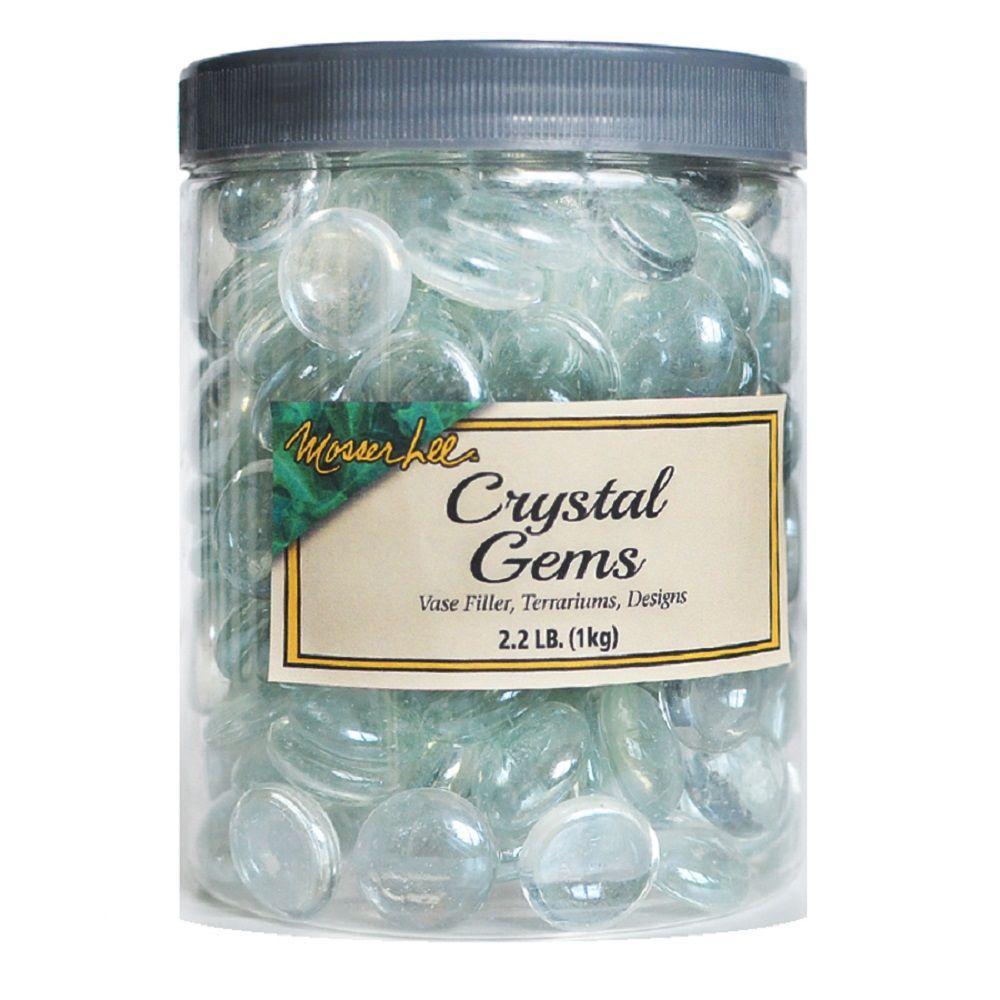 Mosser Lee 2.2 lb. Crystal Gems in Storage Jar by Mosser Lee