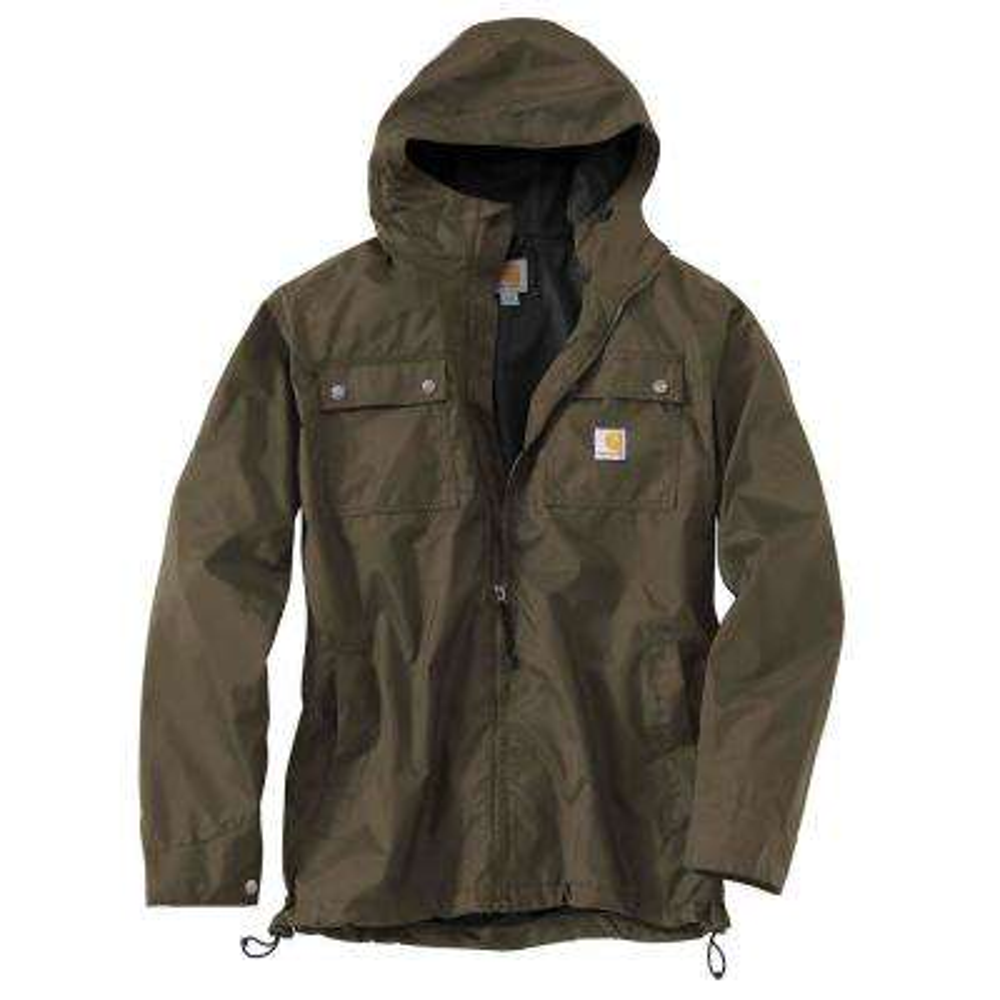 Men's Tall XXX Large Breen Nylon  Jackets/Pullovers