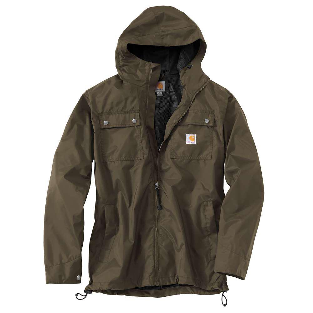 Men's Regular Large Breen Nylon  Jackets/Pullovers