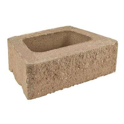 ProMuro 6 in. x 18 in. x 12 in. San Diego Tan Concrete Retaining Wall Block (40 Pcs. / 30 Face ft. / Pallet)