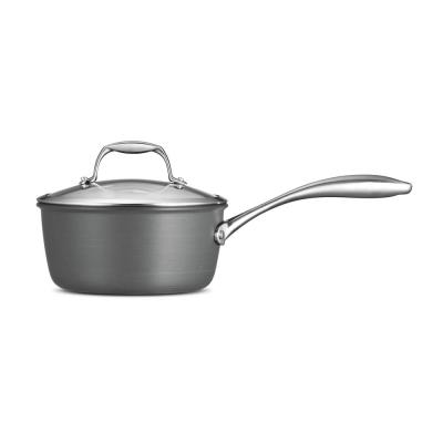 Gourmet 2 Qt. Hard Anodized Saucepan with Lid