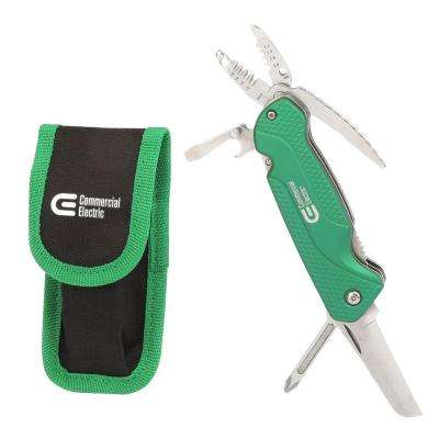 7-in-1 Electrician's Multi-Tool with Pouch