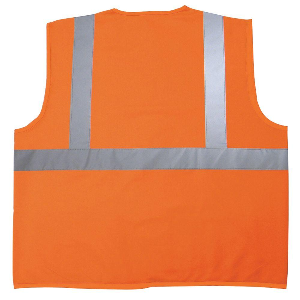ff10a55fad5 Safety Flag 4X 5X Safety Vest-C2ANSI-4X 5X - The Home Depot