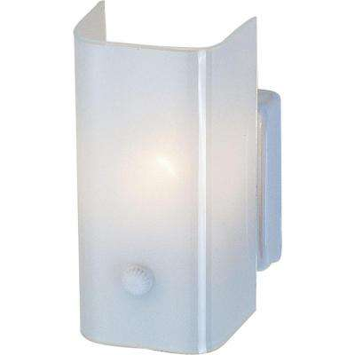 1-Light White Interior Wall Sconce