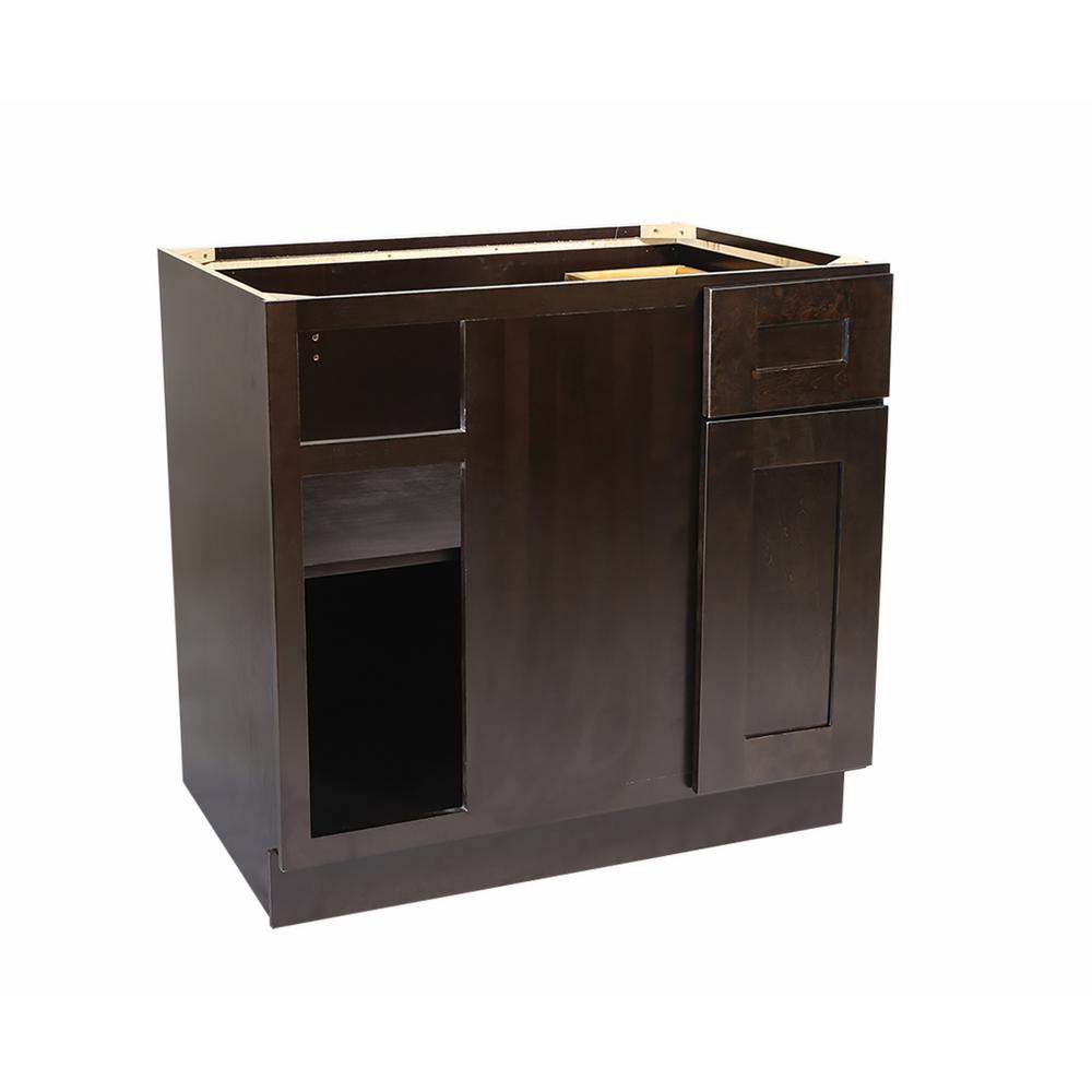 Design house ready to assemble 36x24x34 1 2 in brookings for 1 drawer 2 door cabinet