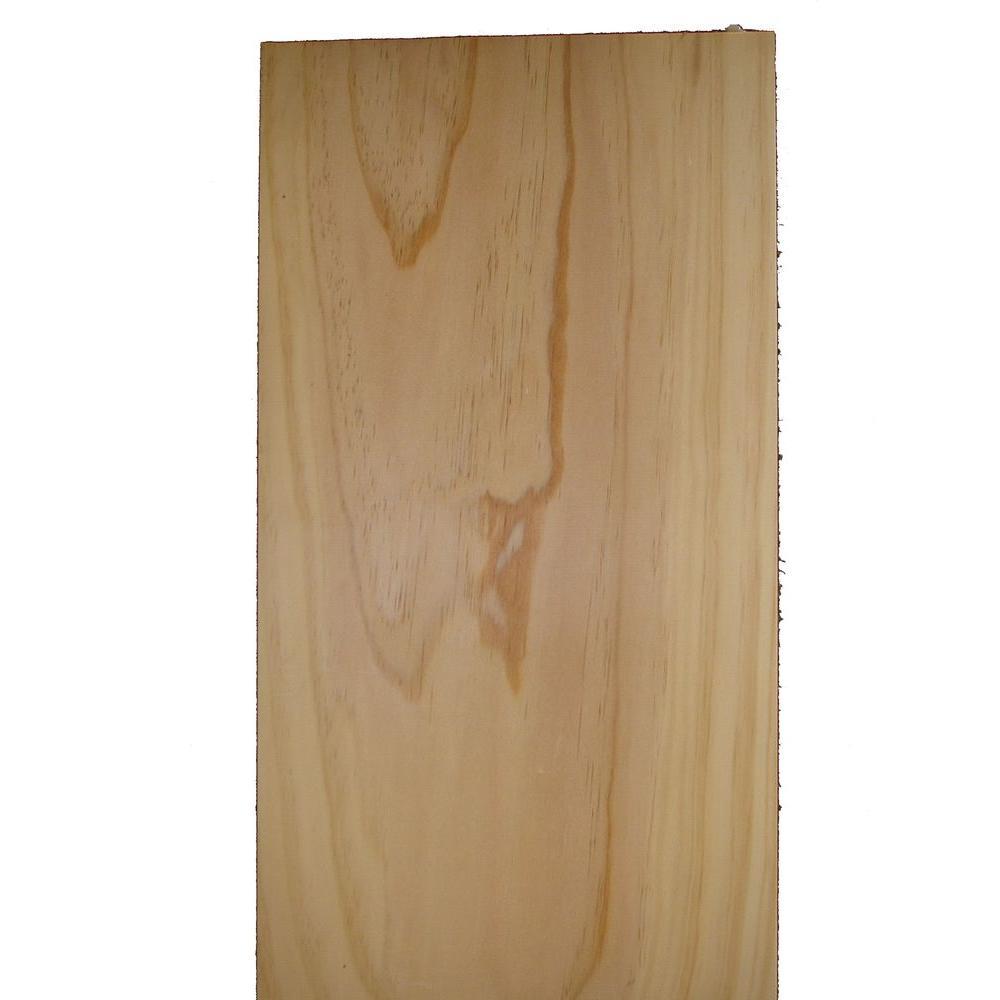 1 in. x 12 in. 8 ft. Square Edge Pine Select Board