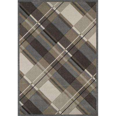 Journey Grey 5 ft. 3 in. x 7 ft. 6 in. Area Rug