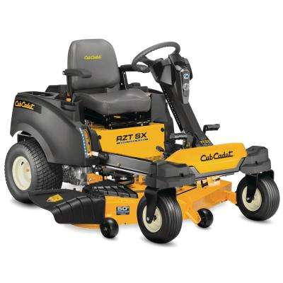 RZT-SX 50 in. Fabricated Deck 24-HP Kohler V-Twin Dual-Hydro Zero Turn Mower with Steering Wheel Control