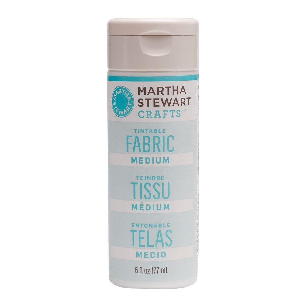 Martha Stewart Crafts 6-oz. Tintable Fabric Medium Craft Paint