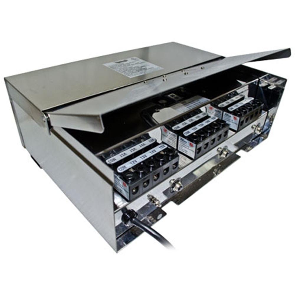 Triac 900-Watt Stainless Steel Low Voltage Outdoor Transformer