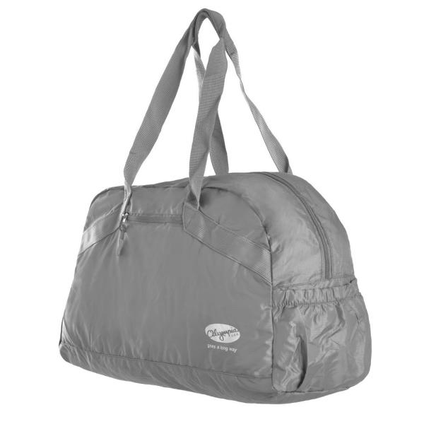 Pack-able Shoulder Tote Gray
