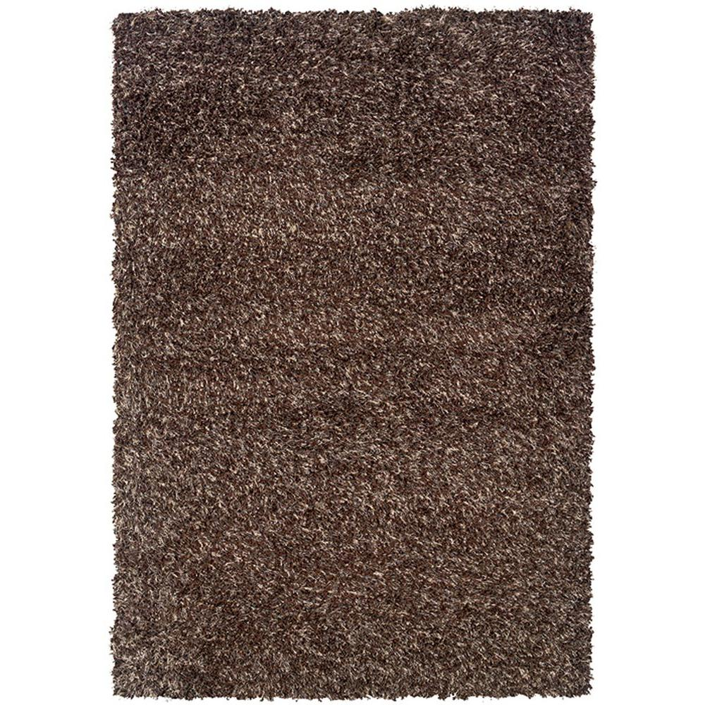 LR Resources OMG Kiss Sandalwood 5 ft. 3 in. x 7 ft. 6 in. Plush Indoor Area Rug