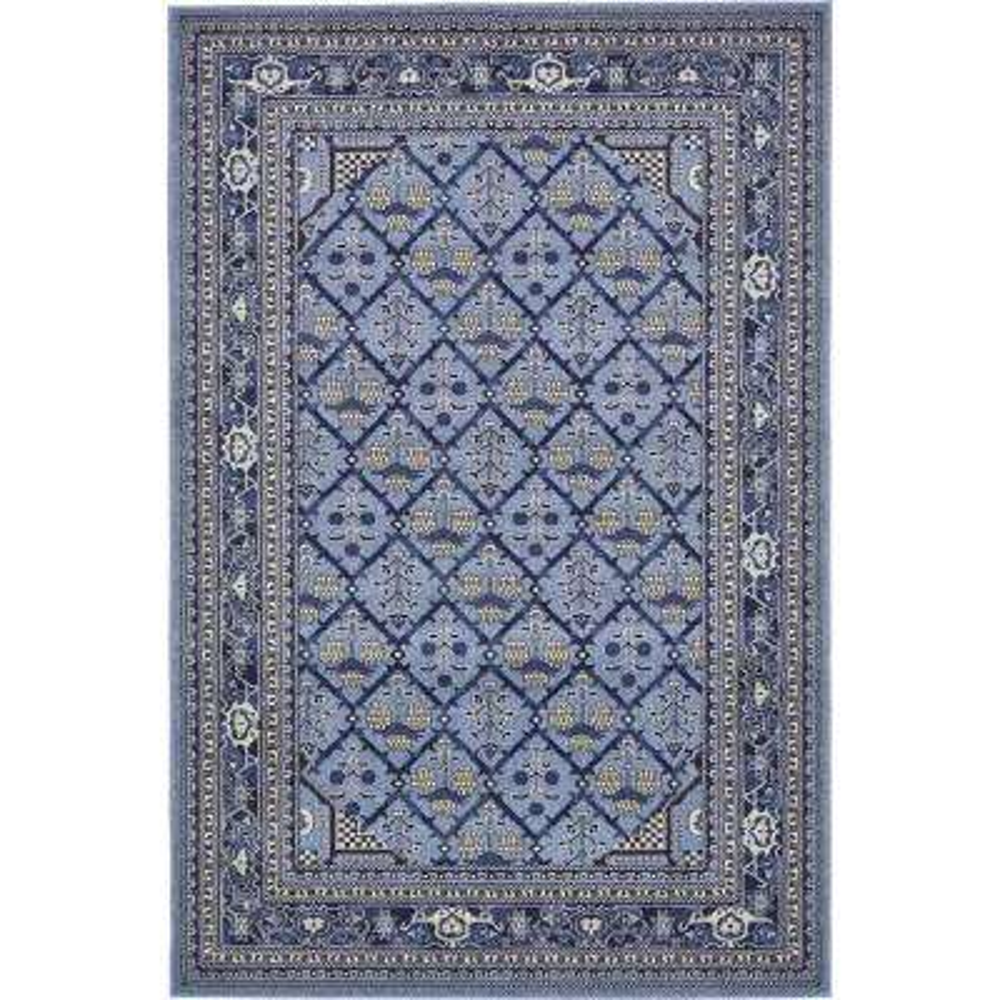 La Jolla Trellis Blue 6' 0 x 9' 0 Area Rug