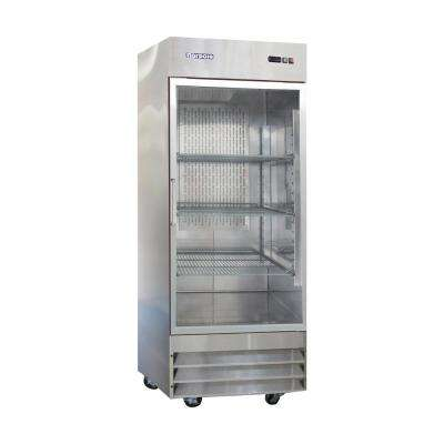 29 in. W 23 cu. ft. Single Door Reach-in Commercial Refrigerator in Stainless Steel