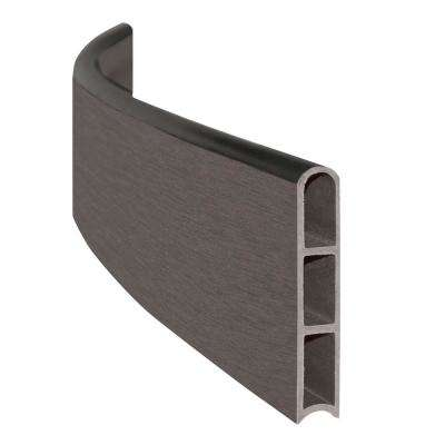 1 in. Series Weathered Wood Composite Curved Board