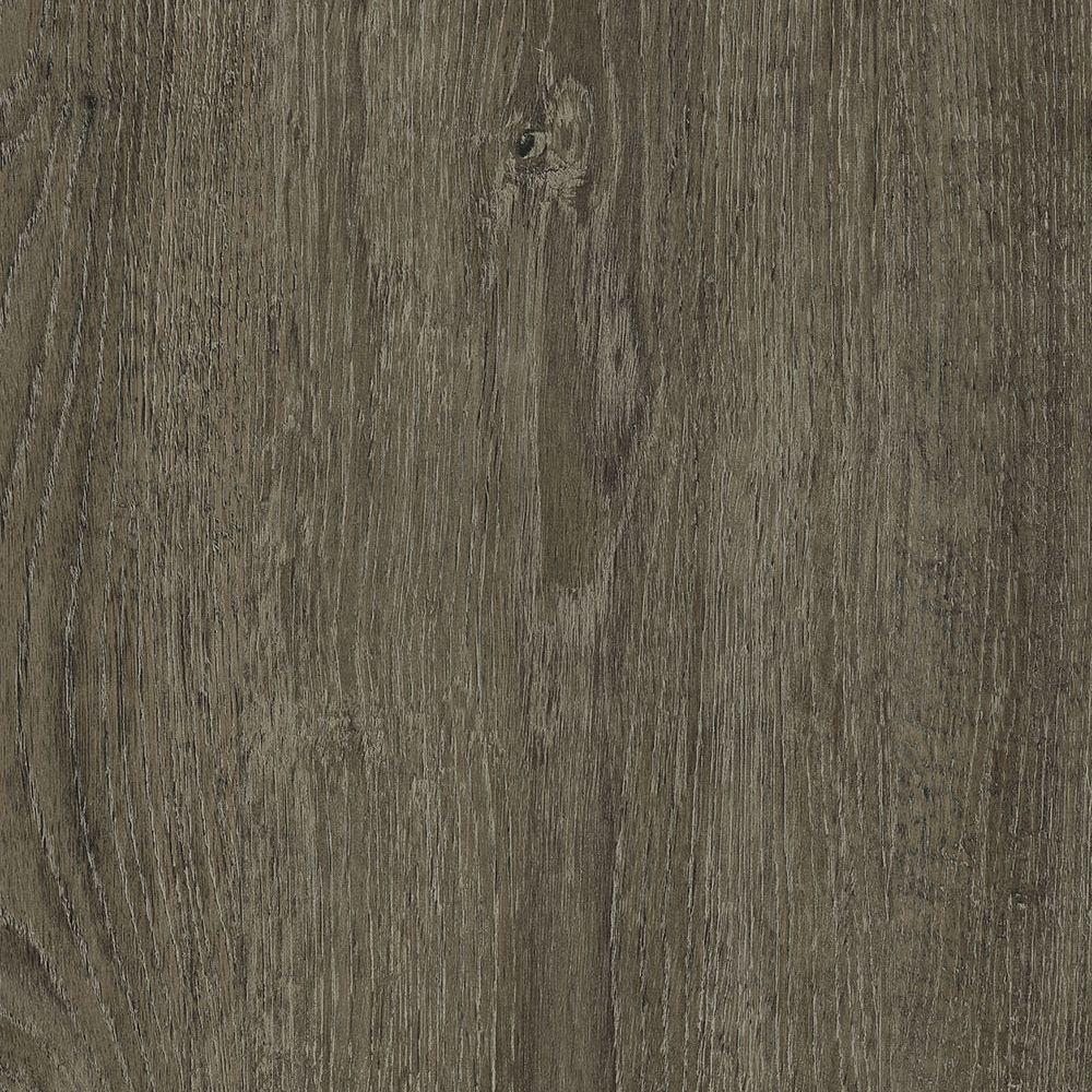 TrafficMASTER Allure 6 In X 36 Metal Gray Oak Luxury Vinyl Plank Flooring 24 Sq Ft