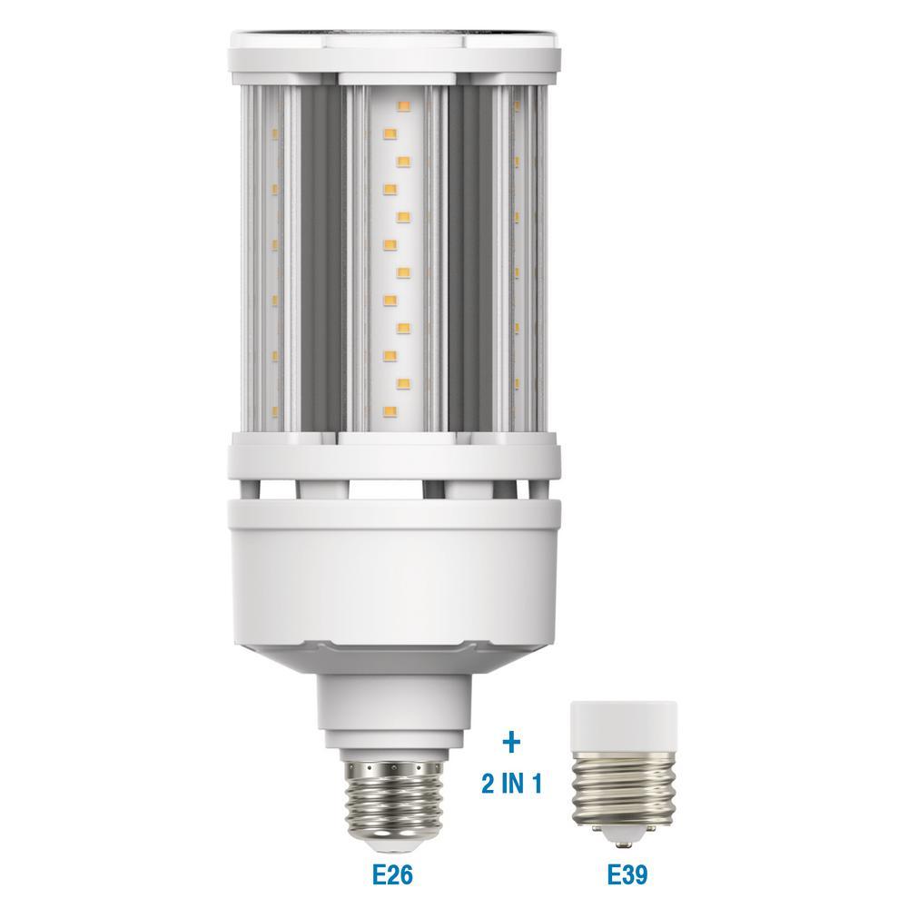 150-Watt Equivalent ED28 HID LED Light Bulb in Daylight