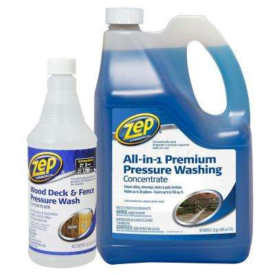 172 oz. All-in-1 Premium Pressure Wash with Wood Deck and Fence Value Pack