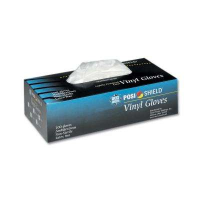Powder Free Vinyl Gloves, XLarge - 100 Ct. Box, sold by the case