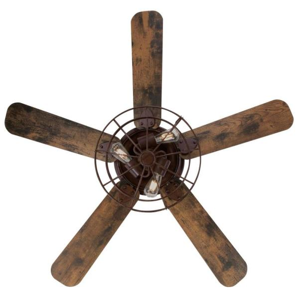 Barnett 48 In Led Barnwood Ceiling Fan