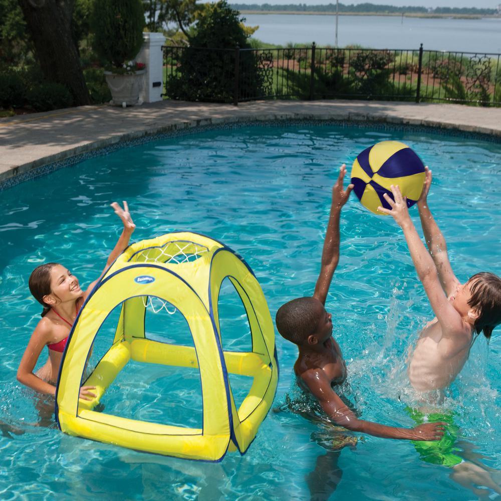 Swim Ways Giant Spring Jam Pool Basketball Game-12201 - The Home Depot