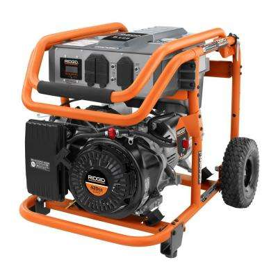 6,500-Watt 420cc Gasoline Powered Portable Generator