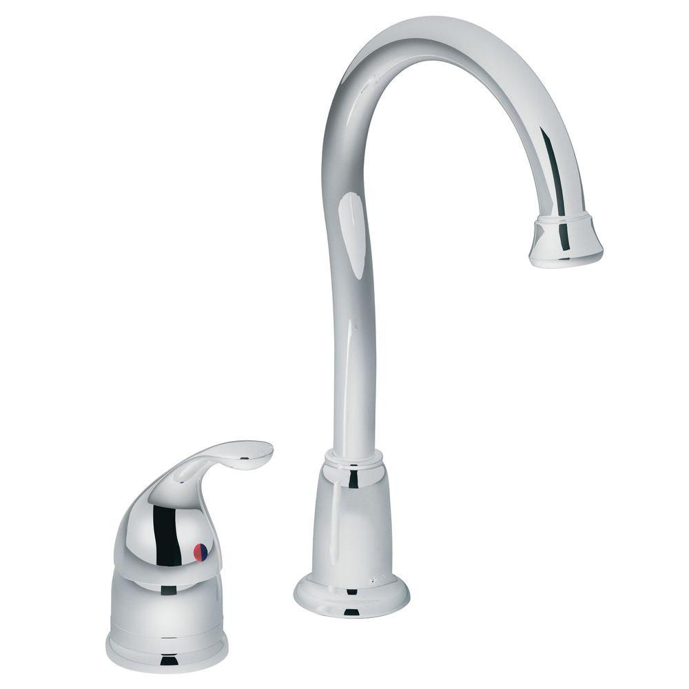 MOEN Camerist Single-Handle Bar Faucet in Chrome