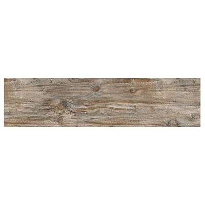 Rustic Bridge Gray 12 in. x 48 in. Colorbody Porcelain Floor and Wall Tile (11.4 sq. ft. / case)