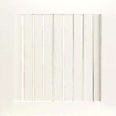 14-9/16x14-1/2 in. Cabinet Door Sample in Shorebrook Painted Linen
