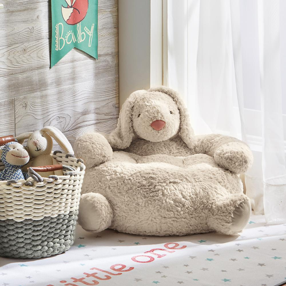 Tag Bunny 1-Piece Ivory Corduroy Plush Chair & Tag Bunny 1-Piece Ivory Corduroy Plush Chair-TAG207362 - The Home Depot