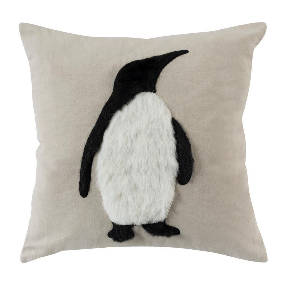 Flippers Penguin Standard Pillow