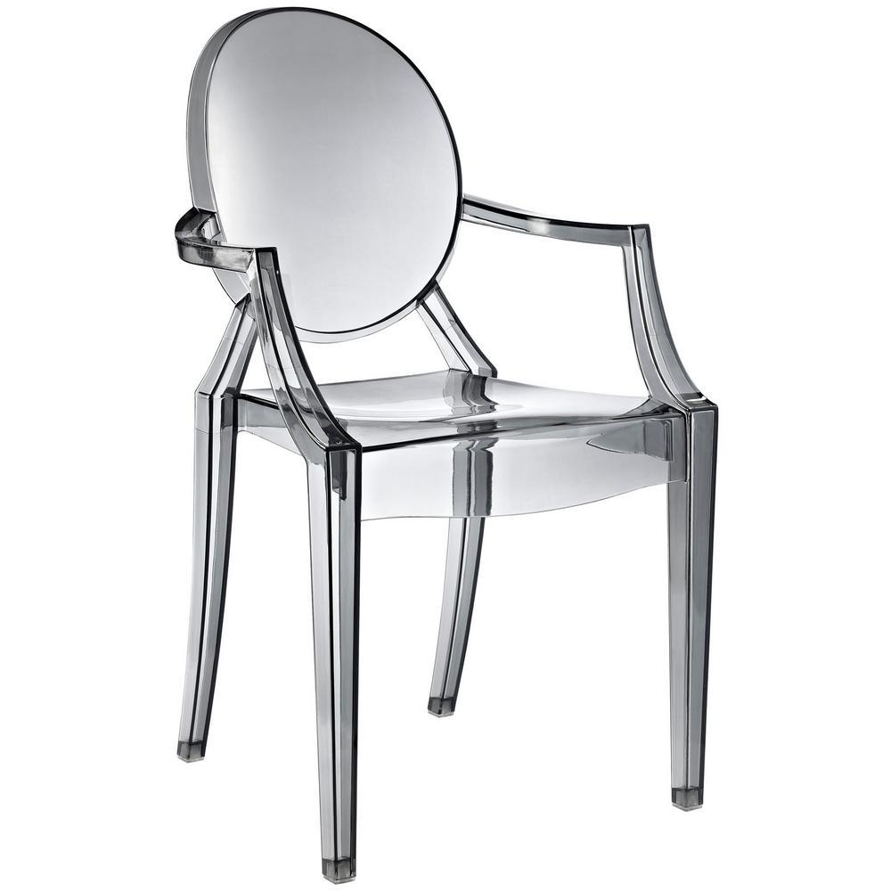 Casper Smoke Dining Arm Chair