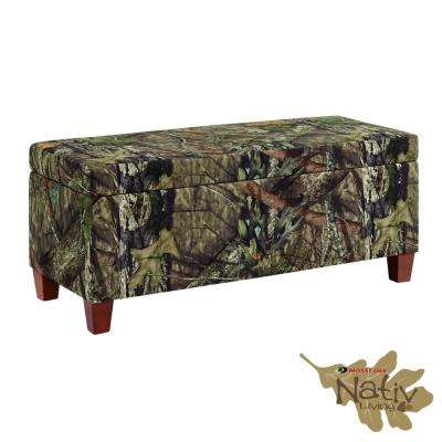 Rustic Ottomans Living Room Furniture The Home Depot