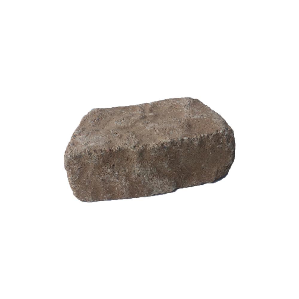 Oldcastle Mini Beltis 3 in. H x 8 in. W x 4 in. D Tan Concrete Sand Hill Retaining Wall Block (378-Piece/Pallet)