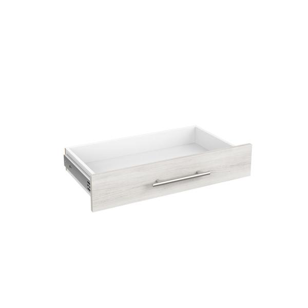 Style+ 5 in. x 25 in. Bleached Walnut Modern Drawer Kit for 25 in. W Style+ Tower