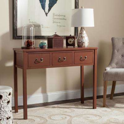 Cindy Terracotta Storage Console Table